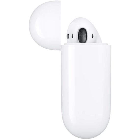 Apple AirPods with Charging Case, 2Th GEN ყურსასმენი (ეფლი)