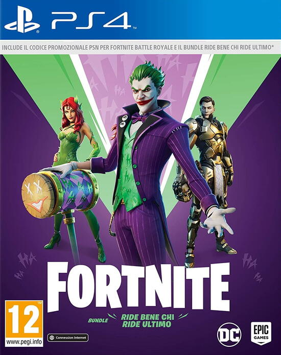 Fortnite: ride Bene Chi Ride Ultimo bundle (Code In box) For PlayStation 4